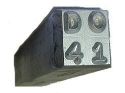 #230-118: STAMP,4 DIGIT DOT LICENSE NO.