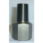 "#100-104: ADAPTER,TEST,1""NGT,STAINLESS STEEL"