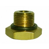 "#100-266: ADAPTER,TEST,1""DIA,14 TPI,MALE,BRASS"