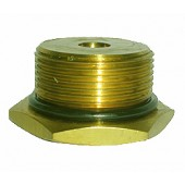 "#100-274: ADAPTER,TEST,1 5/8""DIA,12 TPI,MALE,BRASS"