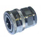 """#110-041: COUPLER,QUICK, 1/2""""FNPT, STAINLESS STEEL"""