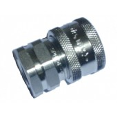 """#110-045: QUICK COUPLER, 1/4""""FNPT, STAINLESS STEEL"""