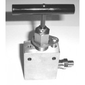 #120-100: HIGH PRESSURE PRESSURE BLEED VALVE, 10,000PSI