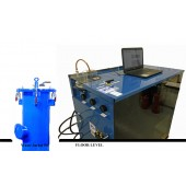 "#507-HP-18-M: SOFTWARE DRIVEN WATER JACKET TEST SYSTEM, WITH 18""D X 72""T WATER JACKET"
