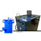 """#507-HP-24-M: SOFTWARE DRIVEN WATER JACKET TEST SYSTEM, WITH 24""""D X 72""""T WATER JACKET"""